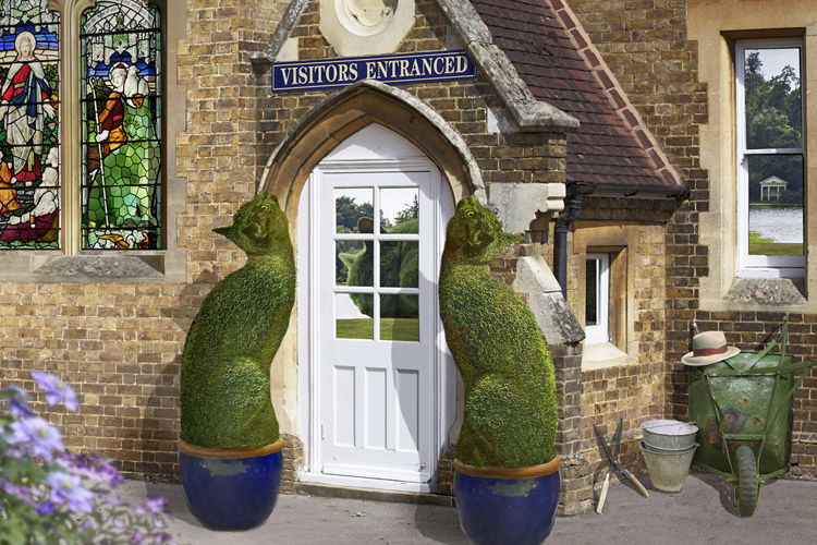 The Topiary Cat's home
