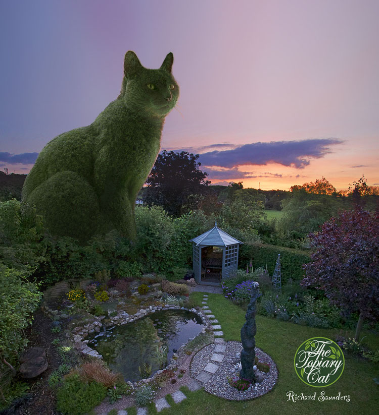 The Topiary Cat evening